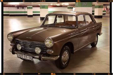 Peugeot 404 Limusine - Pininfarina Design 01