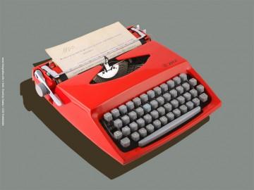 Retro írógép 321.1