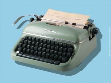Retro írógép Optima