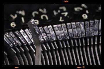 Antik írógép - Underwood Nr.III