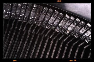 Antik írógép - Underwood Nr.IV