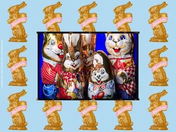 Húsvéti dekoráció Easter and Rabbits nr.XVIII