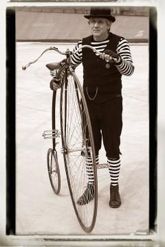 Retro bicikli és kerékpározás - Nr.II