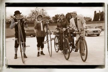 Retro bicikli és kerékpározás - Nr.I