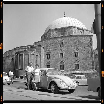 muzeális fotó volkswagen beetle oldtimer bogár 1